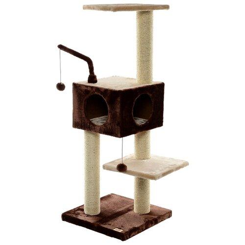 Игровой комплекс Fauna International Revizo 45 х 45 х 121 см коричневый/бежевый