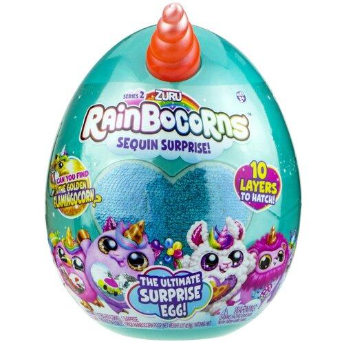 Мягкая игрушка Zuru RainBoCorns в яйце (серия 2A)