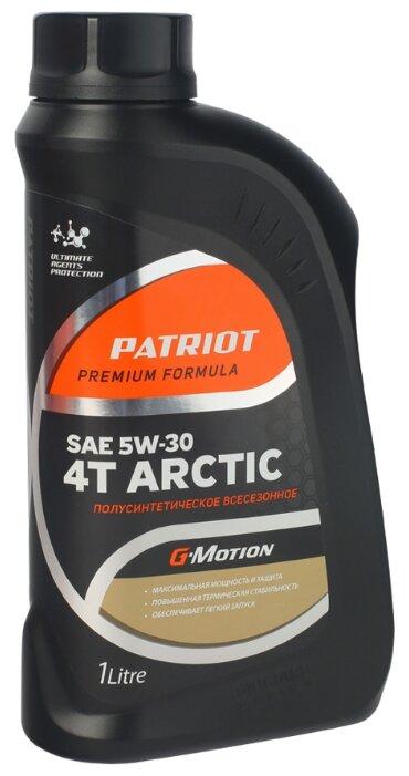 Масло для садовой техники PATRIOT G-Motion Arctic 5W-30 1 л
