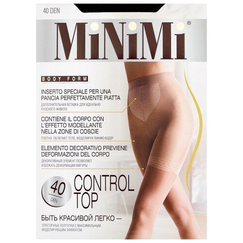 Колготки MiNiMi Control Top 40 den, размер 4-L, nero (черный) колготки minimi vittoria 40 den размер 4 l nero черный