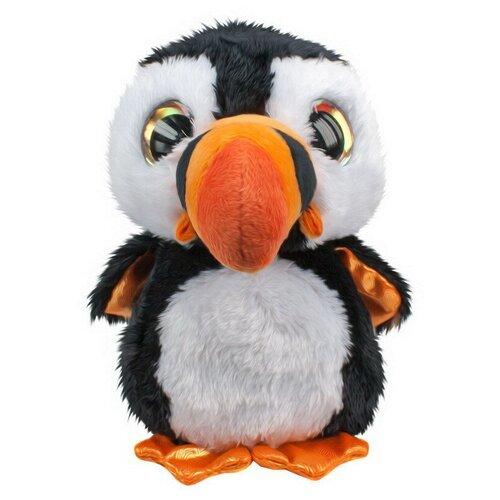 Мягкая игрушка Lumo Stars Пингвин Тупик Lunni черно-белый 15 см