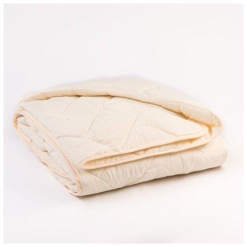 Одеяло всесезонное Миродель овечья шерсть, 200*220+/-5 см, микрофибра, 200 г/м2