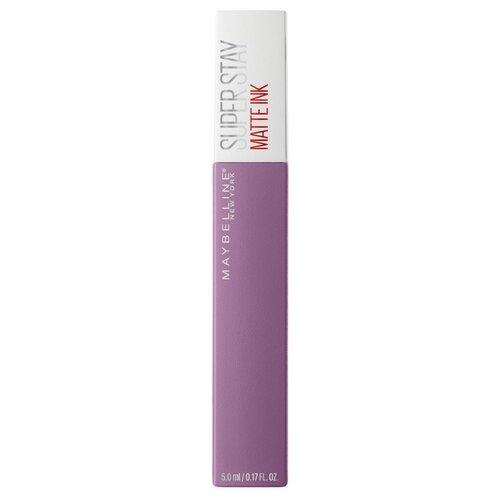 Купить Maybelline New York Super Stay Matte Ink жидкая помада для губ стойкая матовая, оттенок 100, Philosopher
