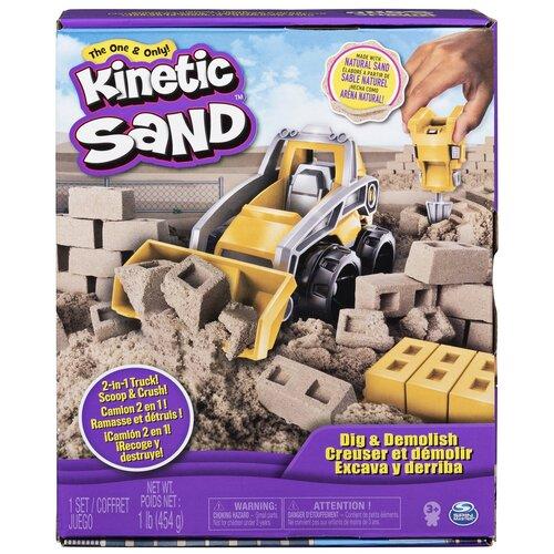 Кинетический песок Kinetic Sand Экскаватор (6044178)