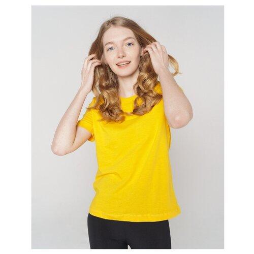 Футболка ТВОЕ 68432 размер XS, желтый футболка твое 68432 размер xs темно синий