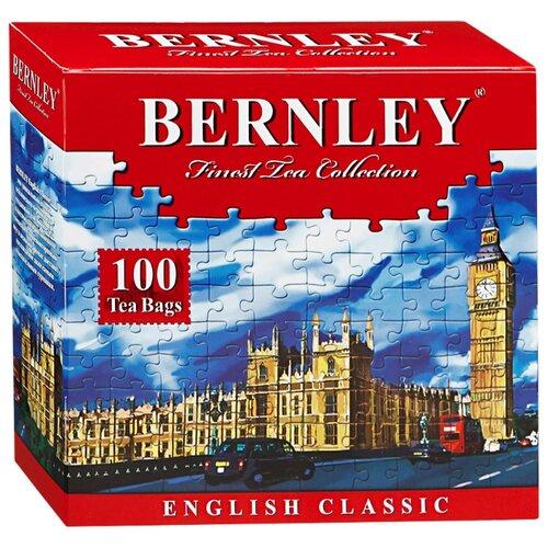 Чай черный Bernley English сlassic в пакетиках, 100 шт.Чай<br>