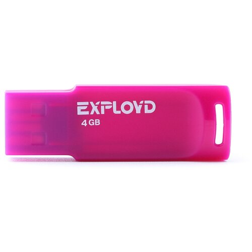 Фото - Флешка EXPLOYD 560 4 GB, violet мантоварка росинка рос 307