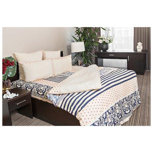 Постельное белье 2-спальное Ночь Нежна Мадрид 50х70 см, поплин бежевый