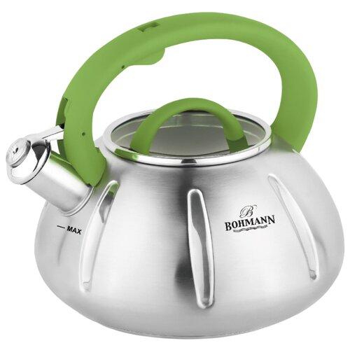 Фото - Bohmann Чайник BH-9918 3 л, зеленый bohmann чайник bh 9913 3 л red