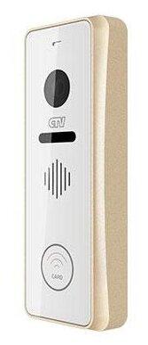 Вызывная (звонковая) панель на дверь CTV D3002EM шампань