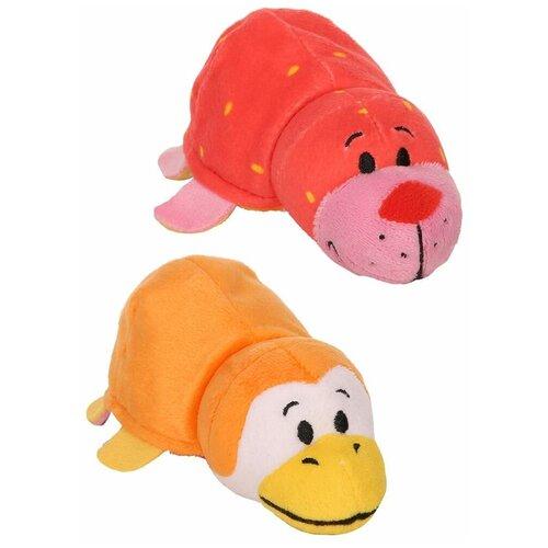 Мягкая игрушка 1 TOY Вывернушка Ням-Ням Морской котик-Пингвинчик с ароматом 12 см