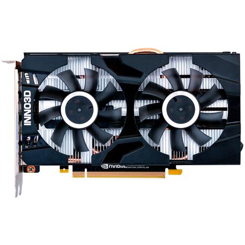 colorful geforce gtx 1660 ti graphics card Видеокарта INNO3D GeForce GTX 1660 Ti TWIN X2 6GB (N166T2-06D6-1710VA15), Retail