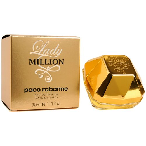 Парфюмерная вода Paco Rabanne Lady Million, 30 мл недорого