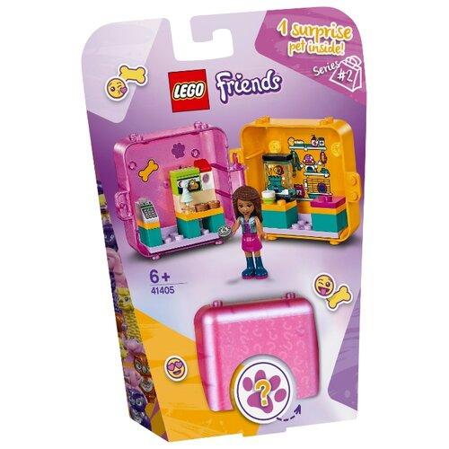 Конструктор LEGO Friends 41405 Игровая шкатулка Покупки Андреа lego friends 41354 шкатулка сердечко андреа конструктор