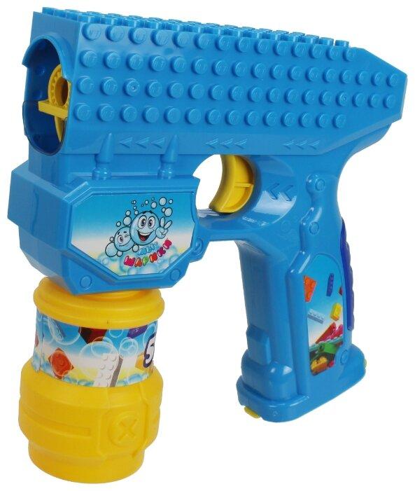 Пистолет для пускания мыльных пузырей 1 TOY Мы-шарики!, 59 мл Т15065