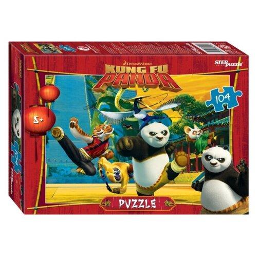 Фото - Пазл Step puzzle Dreamworks Кунг-фу Панда (82193), 104 дет. пазл step puzzle dreamworks trolls 94056 160 дет