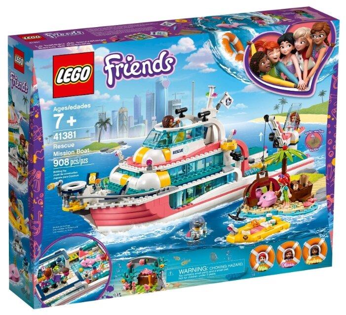 Конструктор Friends 41381 Конструктор LEGO Friends Катер для спасательных операций