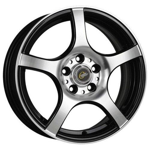 Фото - Колесный диск Cross Street Y279 6.5x16/4x100 D60.1 ET36 BKF колесный диск cross street y279 6 5x16 4x100 d60 1 et50 bkf