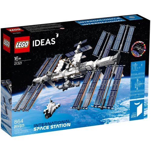 Конструктор LEGO Ideas 21321 Международная Космическая Станция lego city лунная космическая станция 60227