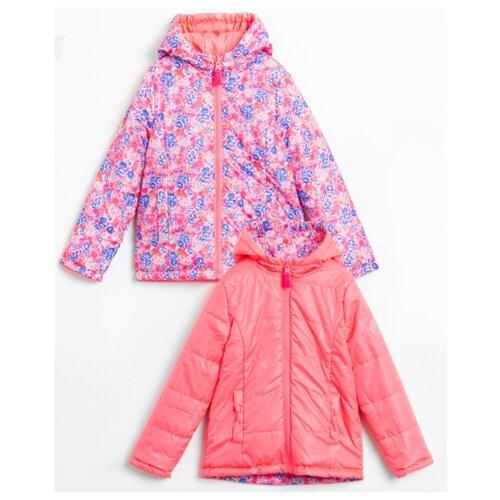 Куртка COCCODRILLO Hola W20152501HOL размер 110, розовый куртка утепленная coccodrillo coccodrillo mp002xg00cze