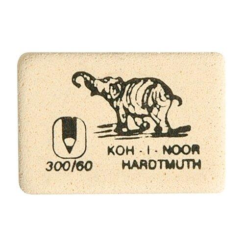 KOH-I-NOOR Ластик 300/60 белый koh i noor ластик 300 40