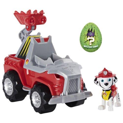 Купить Игровой набор Spin Master Paw Patrol машинка с Маршалом Дино-миссия 6059518, Игровые наборы и фигурки
