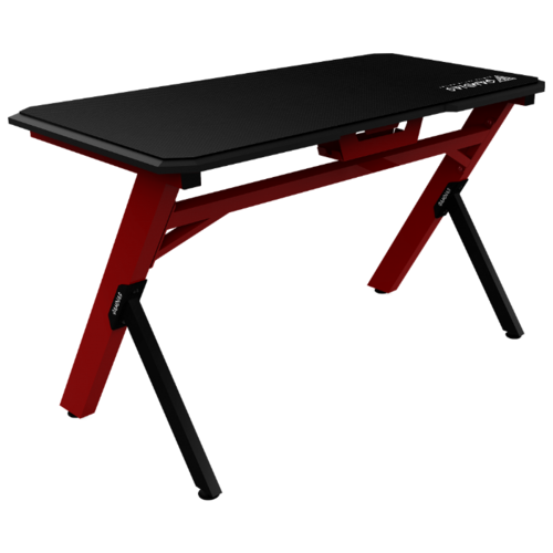 Игровой стол GAMDIAS Daedalus E1, 120х60 см, цвет: черный/красный