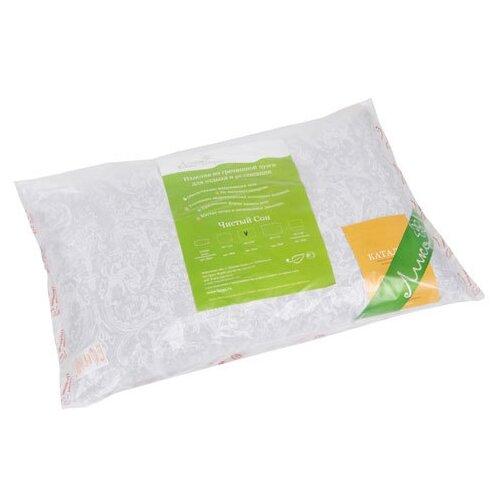 Подушка Лика Гречневая, Л059 40 х 60 см серый