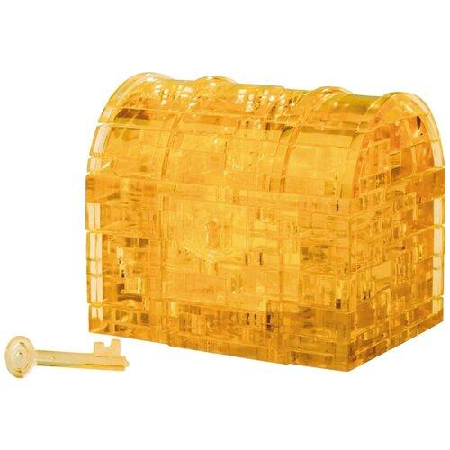 Фото - 3D-пазл Crystal Puzzle Оранжевый сундук (90007), 52 дет. 3d пазл crystal puzzle дельфин 91004 95 дет
