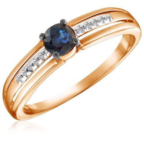 Бронницкий Ювелир Кольцо из красного золота R01-D-33770-SA, размер 17 кольцо из золота r01 d 68997r001 r