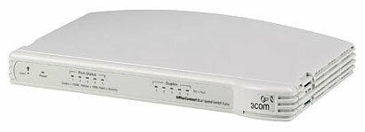 Коммутатор 3COM OfficeConnect Dual Speed Switch 5