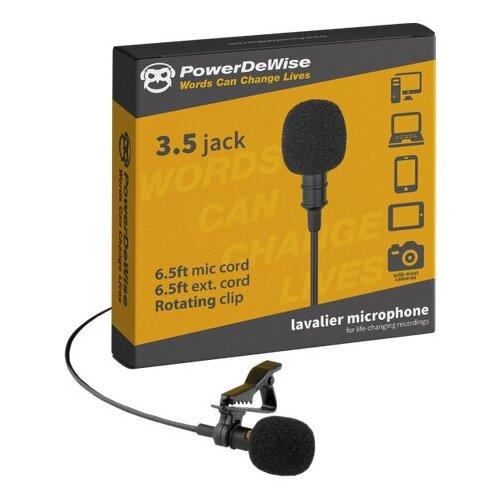 Микрофон PowerDeWise PDW-1, черный