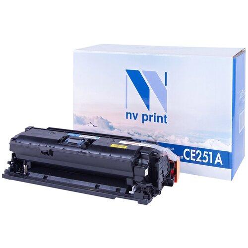 Фото - Картридж NV Print CE251A/723 Cyan для HP и Canon, совместимый картридж nv print q6473a 711 magenta для hp и canon совместимый