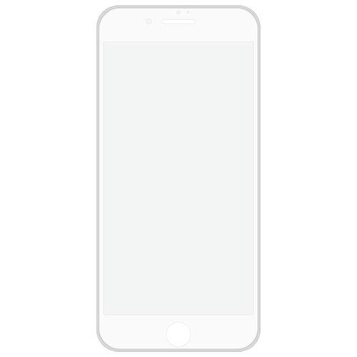 Купить Защитное стекло Hardiz Silicone Frame Cover Premium Tempered Glass для Apple iPhone 7+/8+ белый
