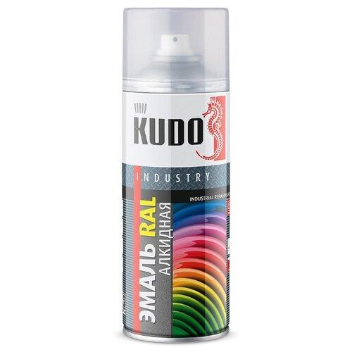 Эмаль KUDO универсальная RAL RAL 3003 рубиново-красный 520 мл