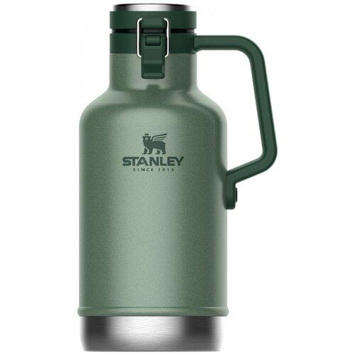 Классический термос STANLEY Classic, 1.9 л темно-зеленый