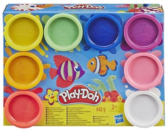 Масса для лепки Play-Doh набор Rainbow 8 цветов (E5062/E5044) в ассортименте