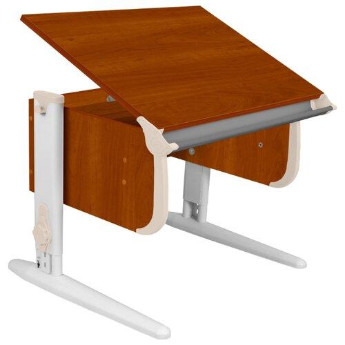 Купить Стол ДЭМИ СУТ-24 75x55 см яблоня/бежевый/белый, Парты и столы