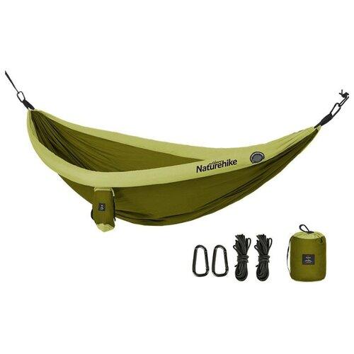 Гамак Naturehike с надувным бортом (NH18D002-C) green