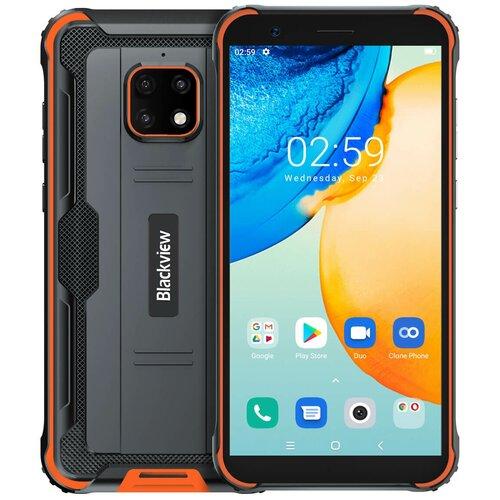 Смартфон Blackview BV4900 Pro, черный/оранжевый смартфон blackview bv4900 черный оранжевый