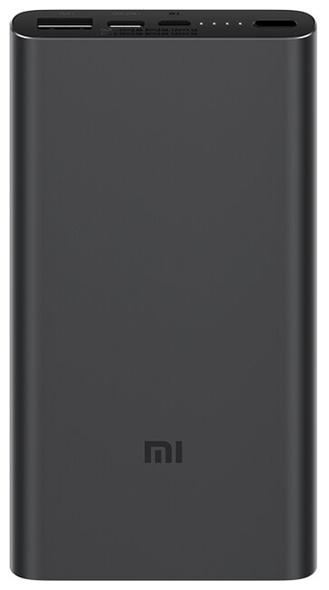 Аккумулятор Xiaomi Mi Power Bank 3 10000 (PLM12ZM) черный
