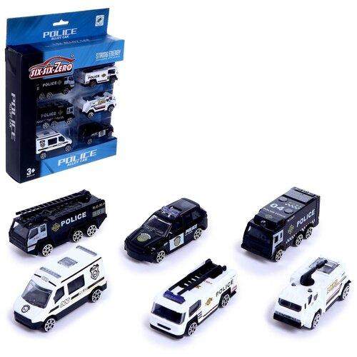 Купить Набор машин металлических «Спецслужбы», 6 шт. 5145034, Сима-ленд, Машинки и техника