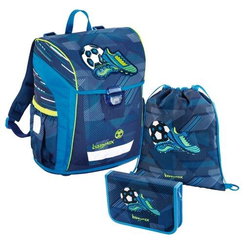 цена на Step By Step Ранец BaggyMax Niffty Soccer Goal 3 предмета, зеленый/синий