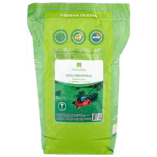 Семена для газона ГазонCity Овсяница 100% Яркий газон, 5 кг