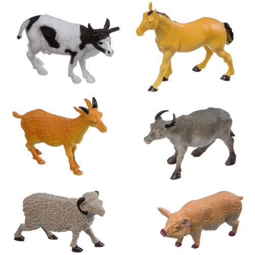 Фото - Фигурки BONDIBON Ребятам о зверятах - Животные фермы ВВ3134 фигурки bondibon ребятам о зверятах домашние животные вв1637