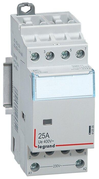 Модульный контактор Legrand 412535 25А