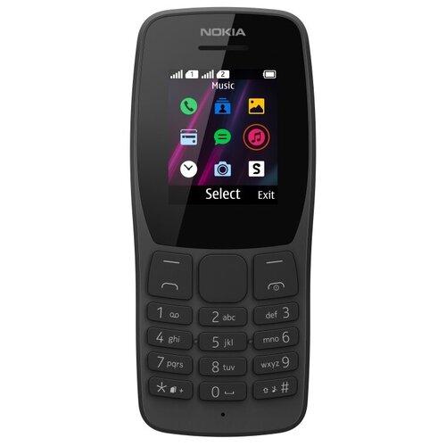 Телефон Nokia 110 (2019) черный