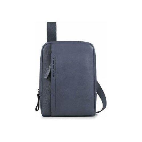 сумка piquadro piquadro pi016bmskq32 Мужская сумка PIQUADRO Сумка PIQUADRO (17,5x24x4 см / Темно-Синий)