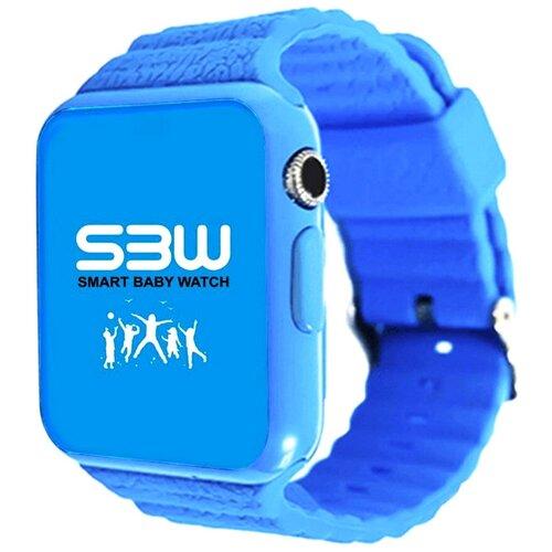 Детские умные часы Smart Baby Watch SBW PLUS, голубой умные часы smart watch w8