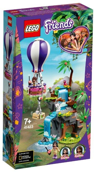 Купить Конструктор LEGO Friends 41423 Джунгли: спасение тигра на воздушном шаре по низкой цене с доставкой из Яндекс.Маркета (бывший Беру)